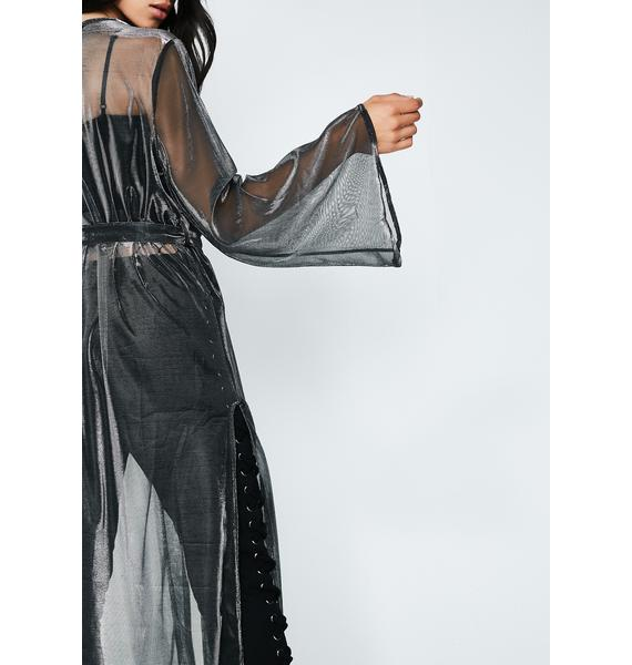 Rad Intentions Sheer Robe