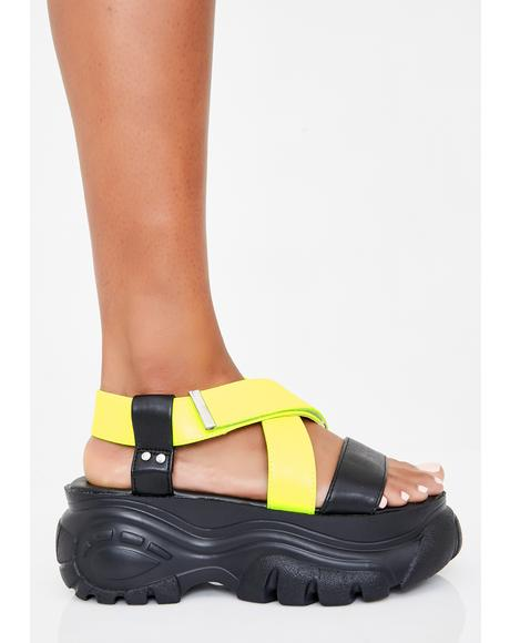 Honey Come Correct Platform Sandals