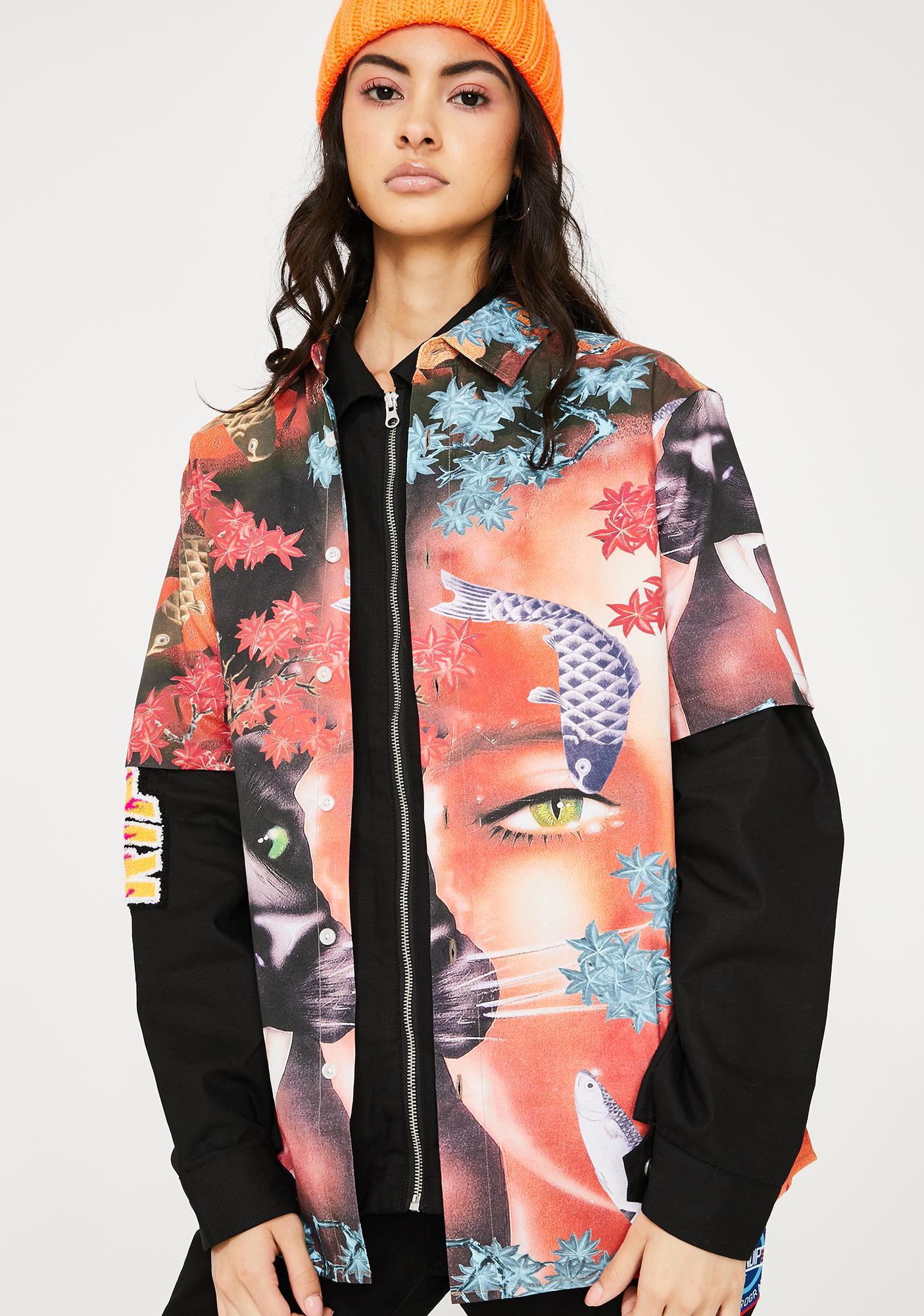 RIPNDIP Koi Button Up Shirt