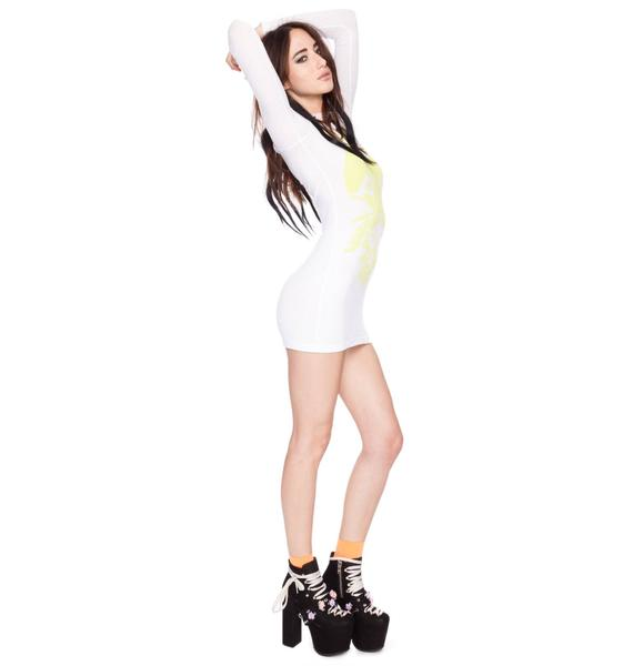 Wildfox Couture Neon Dreamer Arizona Dress