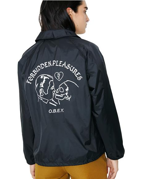 Forbidden Pleasures Coach Jacket