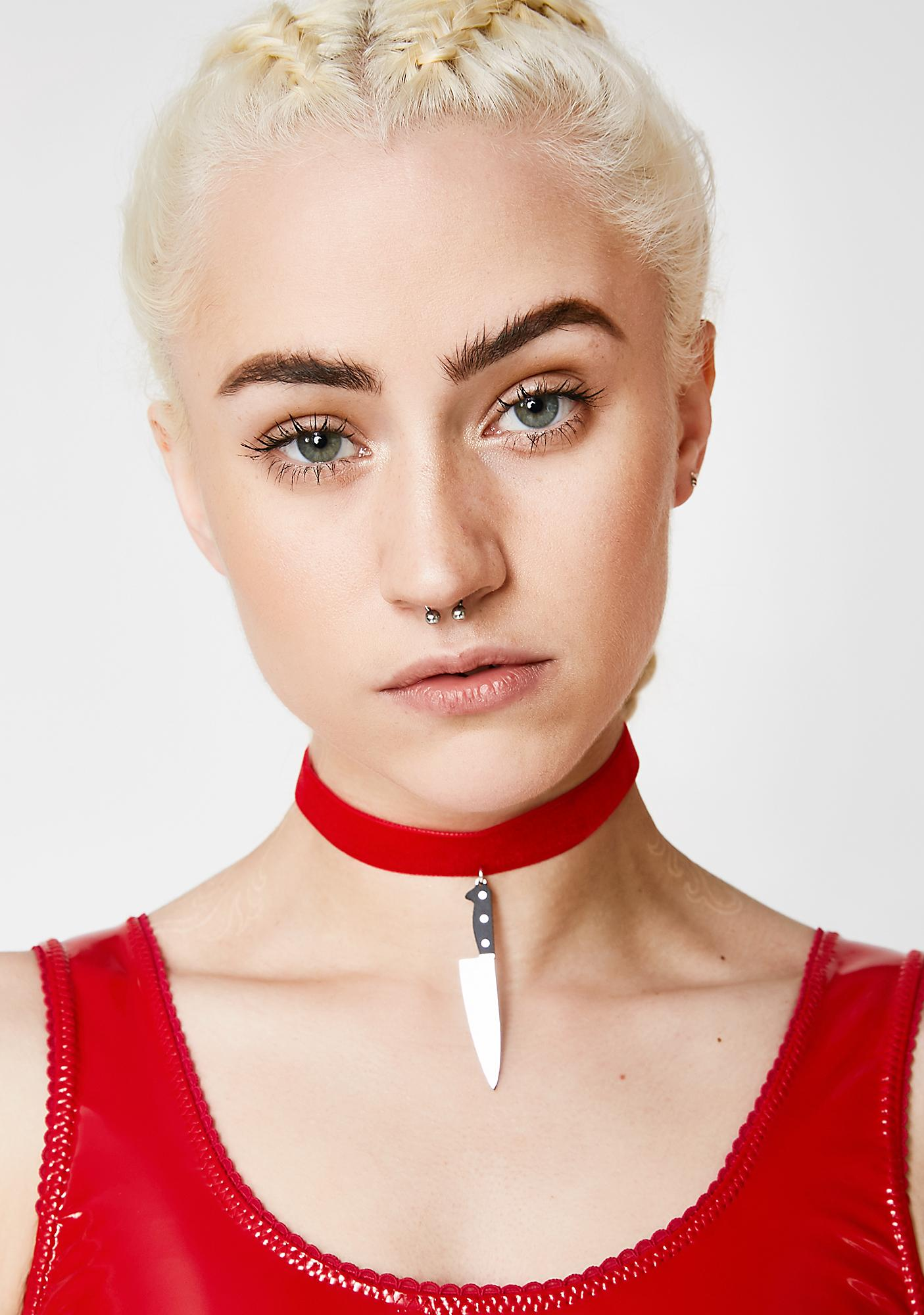 VINCA Cut You Choker