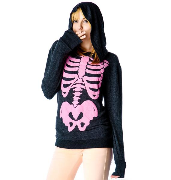 Wildfox Couture Barbie's Insides Gypsy Hoody