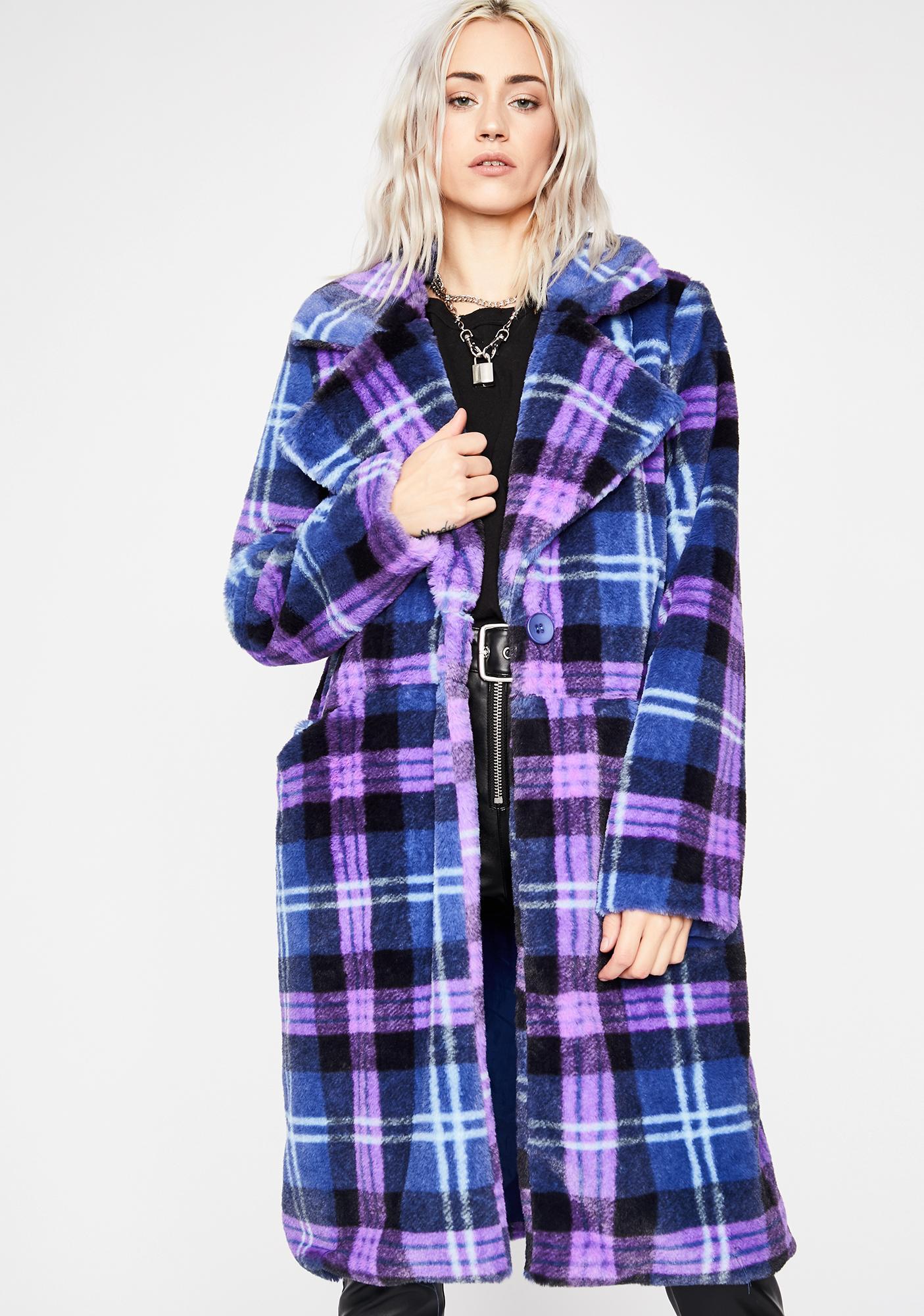 Rebel Luxurious Lover Faux Fur Coat