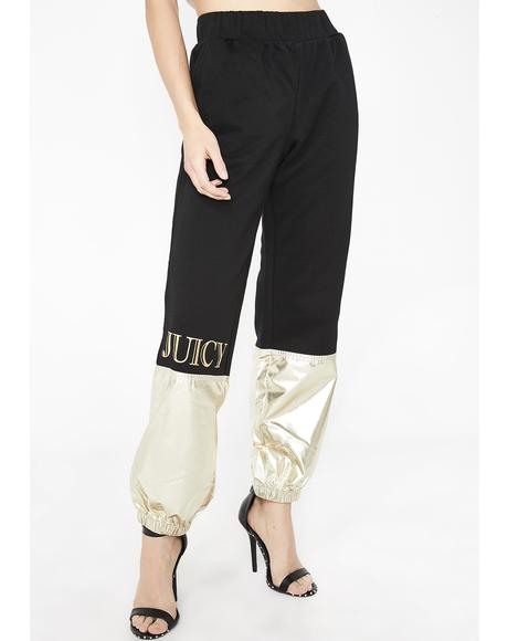 Juicy Metallic Colorblock Pant
