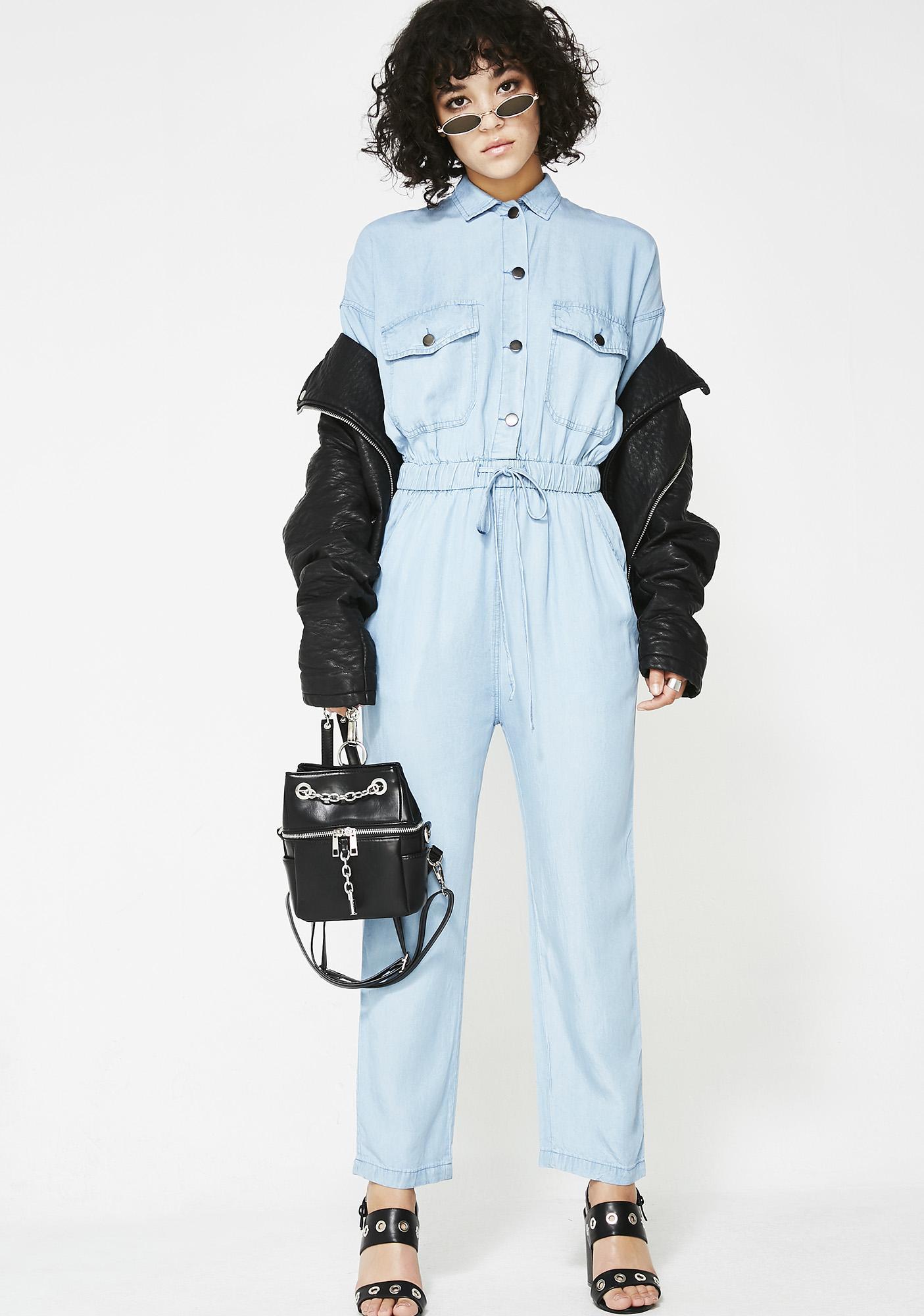 The Mechanic Denim Jumpsuit