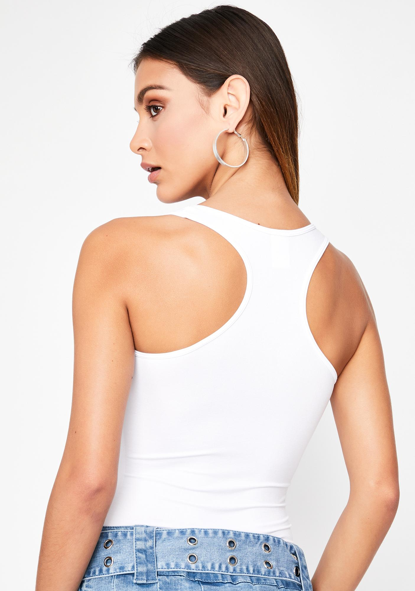 Iced Give Me A Ring Cut Out Bodysuit