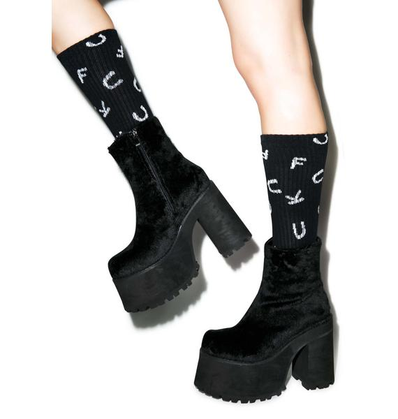 Fuck Crew Socks