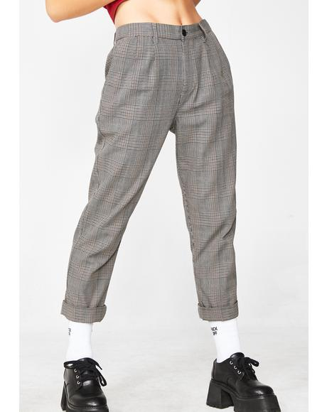 Charlie Plaid Pants