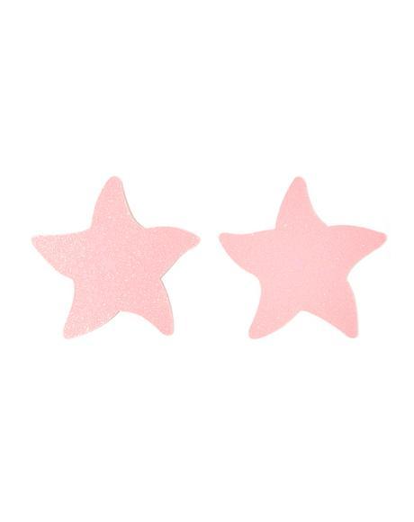 Pink Starfish Pasties