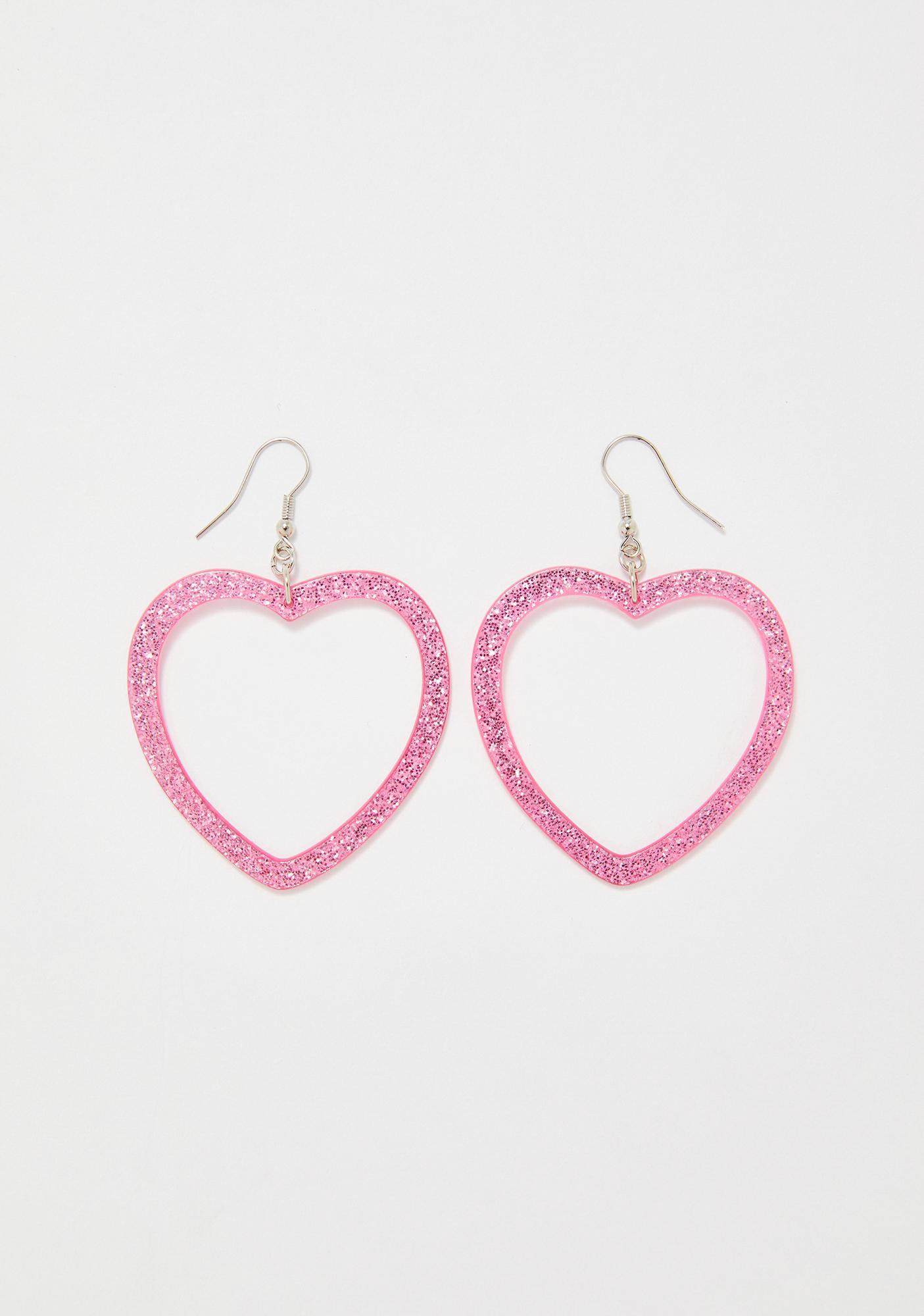Sweet Love Glitter Earrings