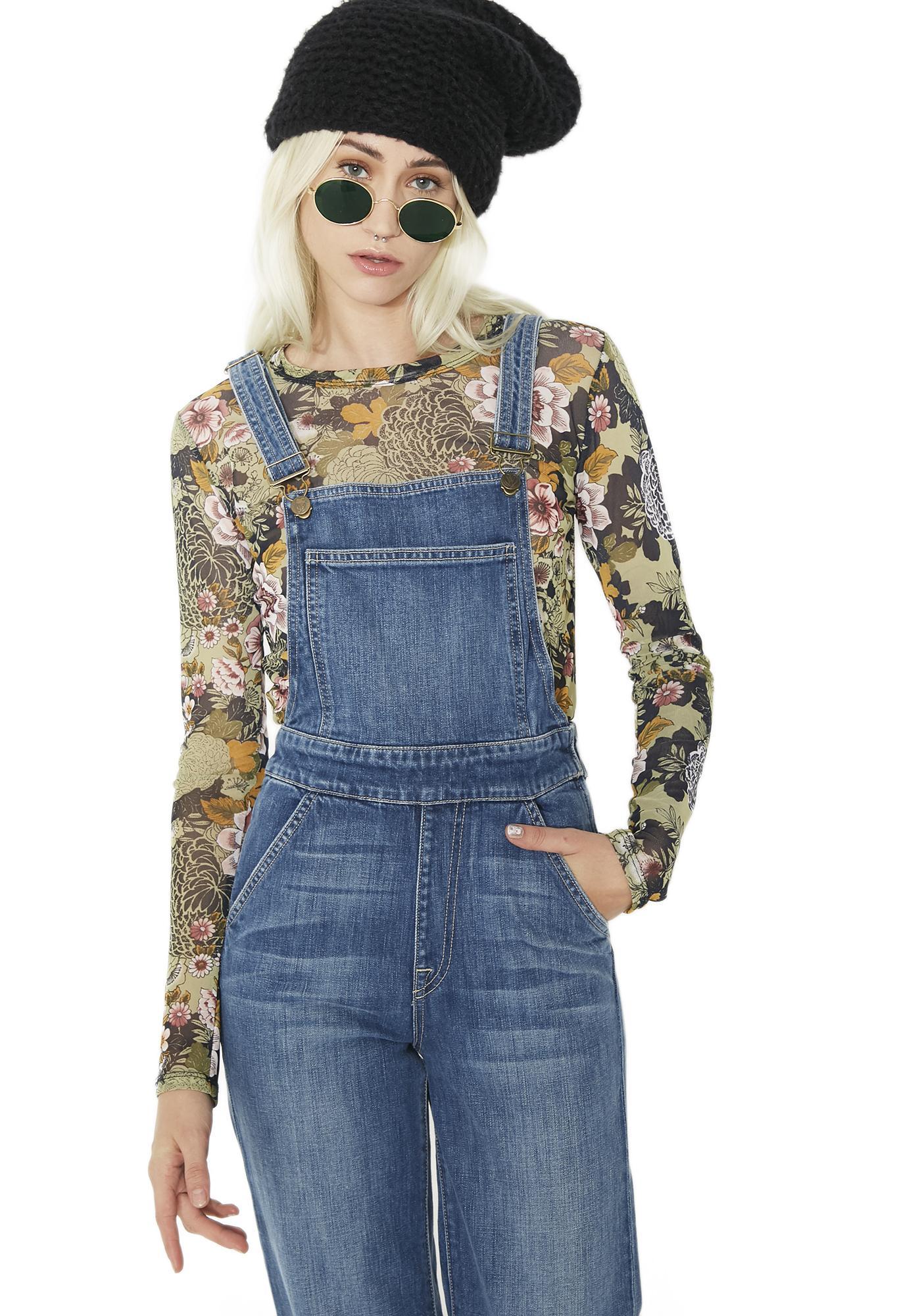 Wildfox Couture Ladonna Overalls