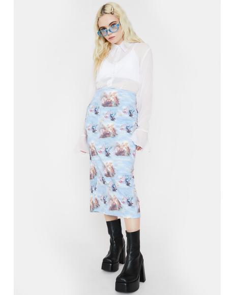 Renaissance Midi Skirt