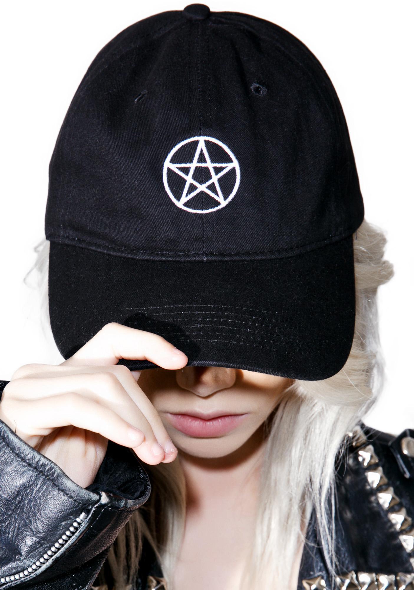 Pentagram Dad Hat  d7cac9d34db