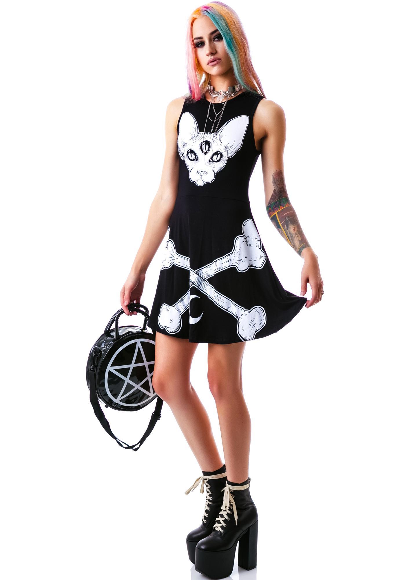 Killstar Third Eye Skater Dress