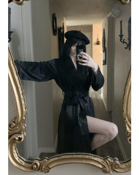 Midnight Invite Satin Robe
