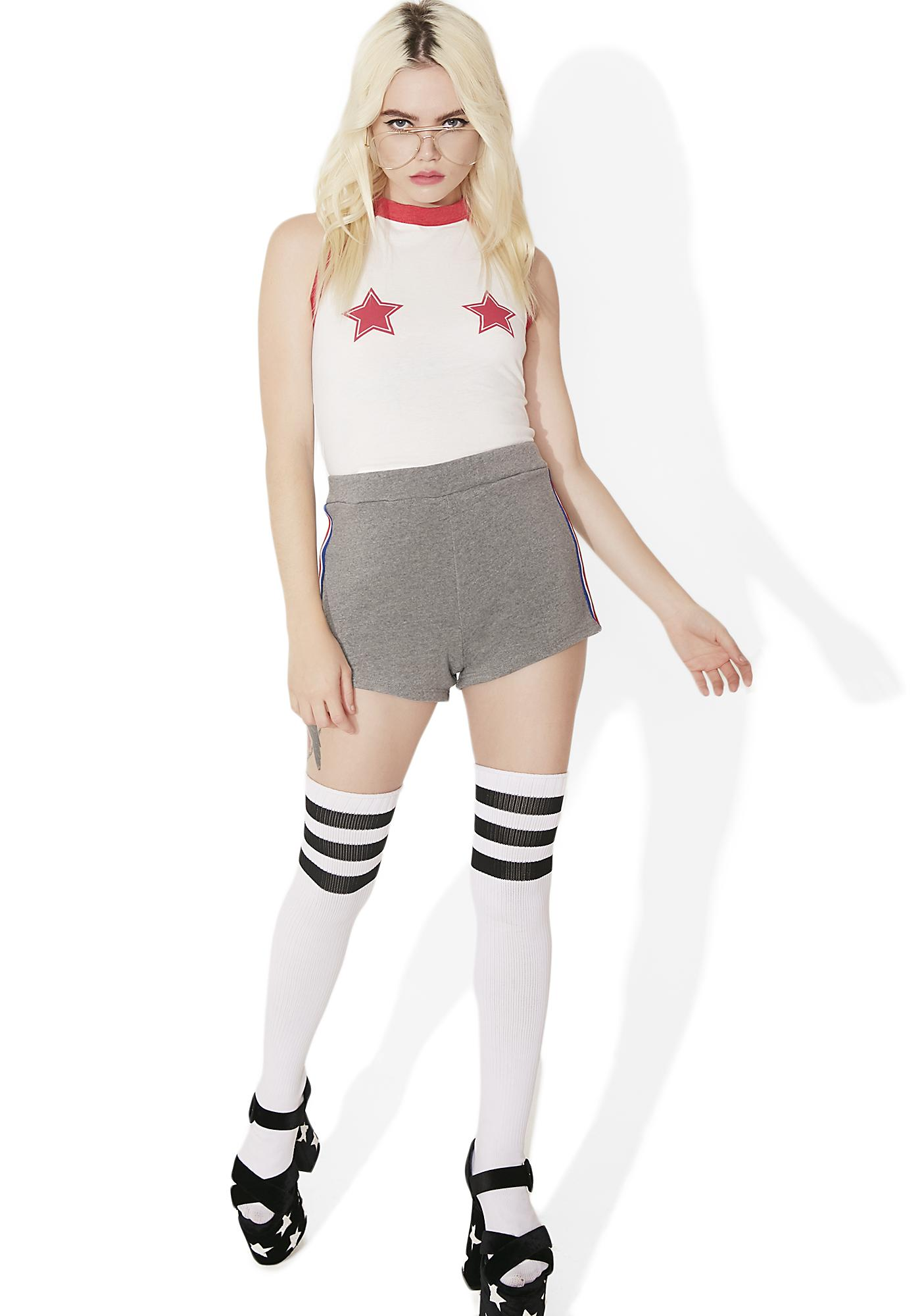 Camp Collection Varsity Track Star Shorts