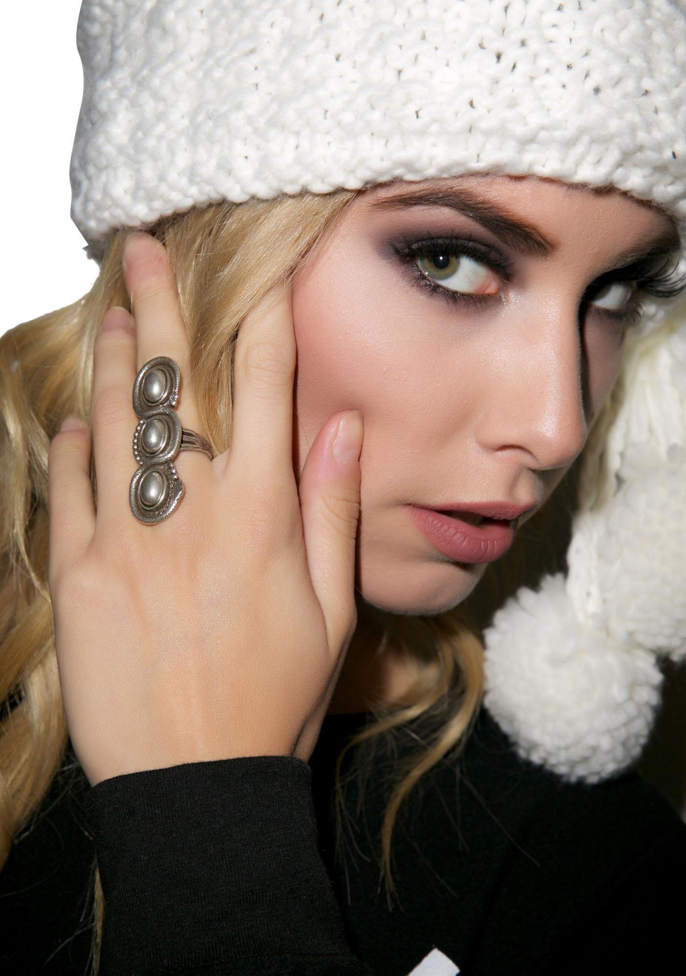 Vanessa Mooney Serpent Silver Ring