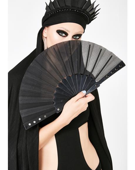 Goth Rivet Fan