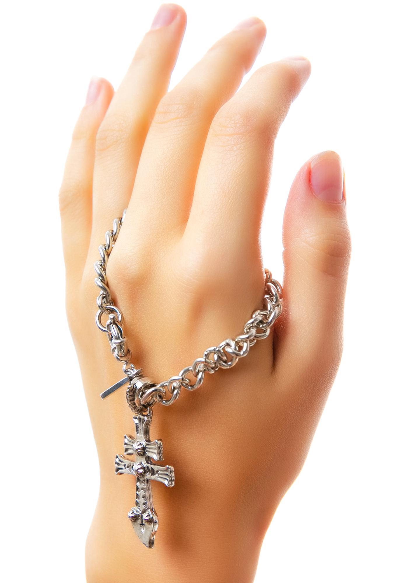 Vanessa Mooney New York Dolls Silver Bracelet