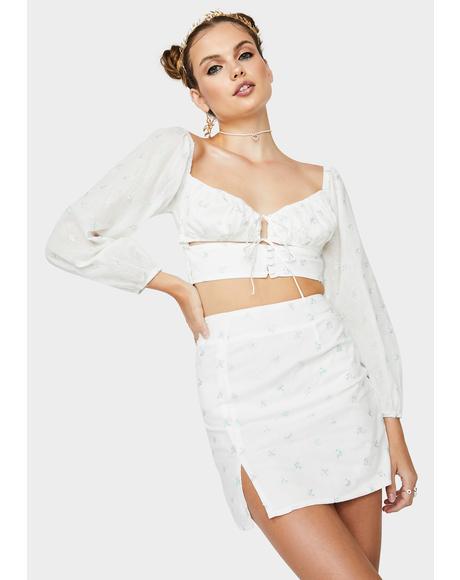 Sunny Meadow Skirt Set