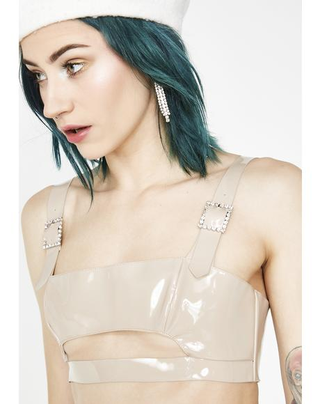 High Roller Latex Top