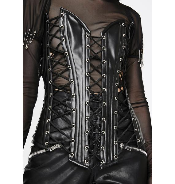 Daisy Corsets Top Drawer Lace-Up Corset