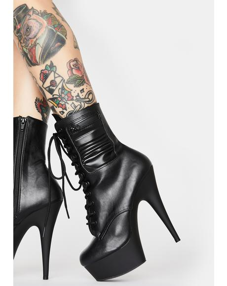 Hot Recruit Stiletto Boots