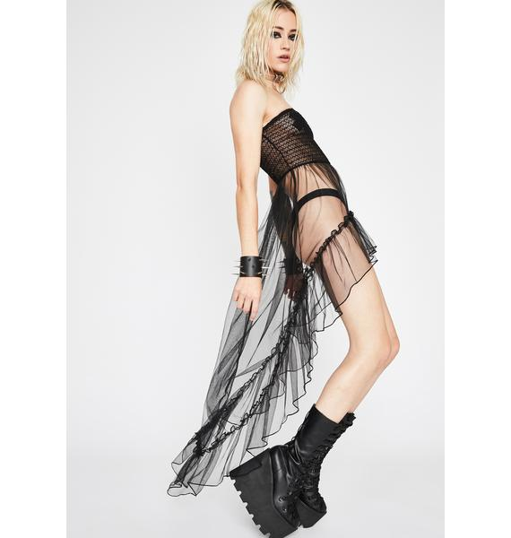 Kiss N' Don't Tell Tulle Top
