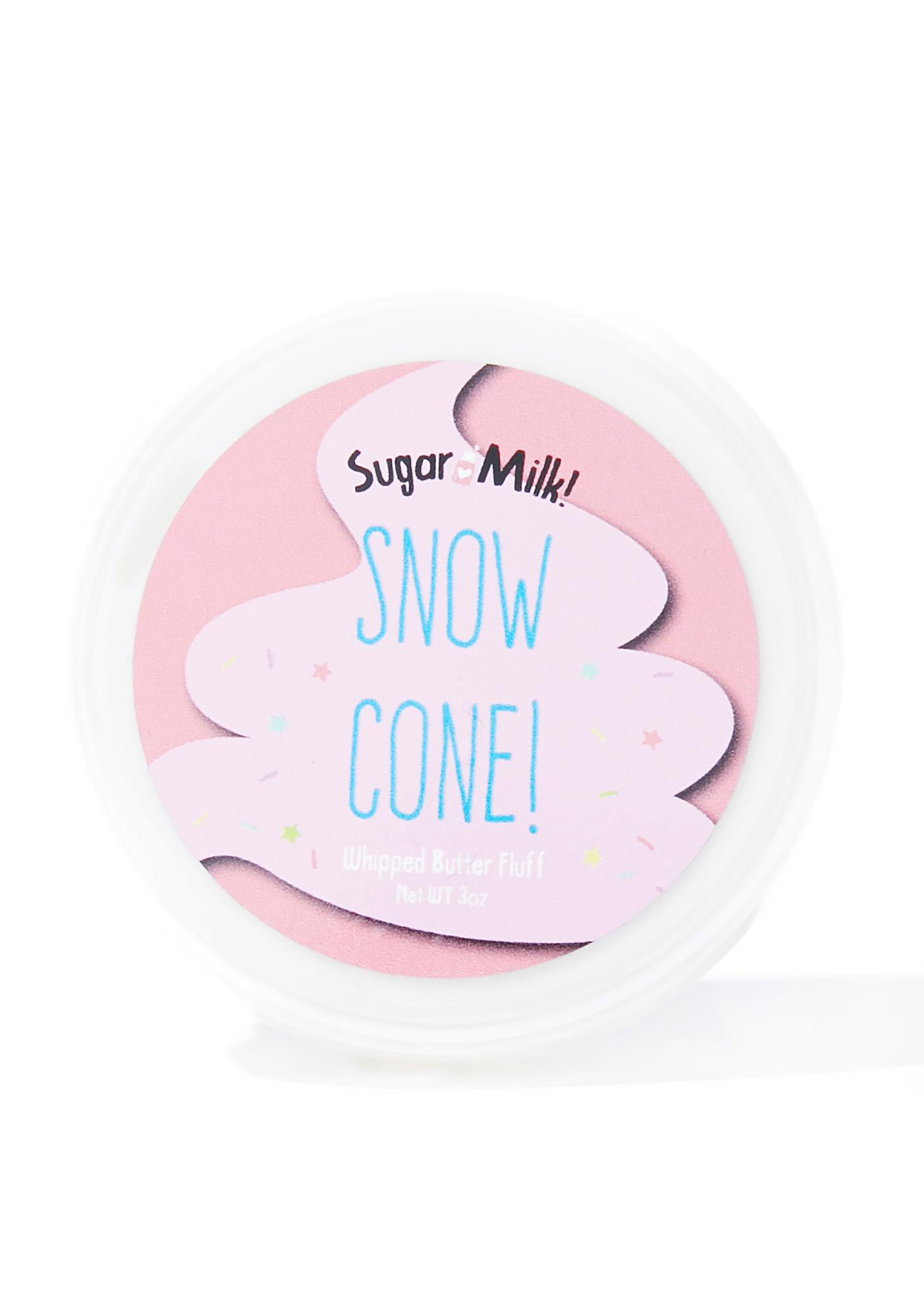 Sugar Milk Co Snow Cone Whipped Body Butter