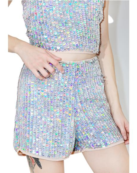 Disco BB Sequin Shorts