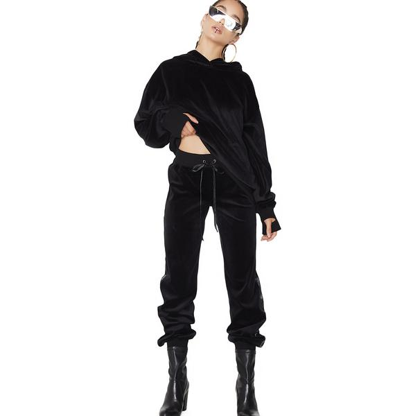Poster Grl Doll Domination Velour Track Pants