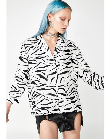 Trendin' Territory Zebra Shirt