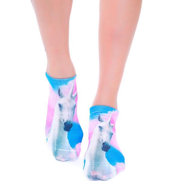 Unicorn Adventure Ankle Socks
