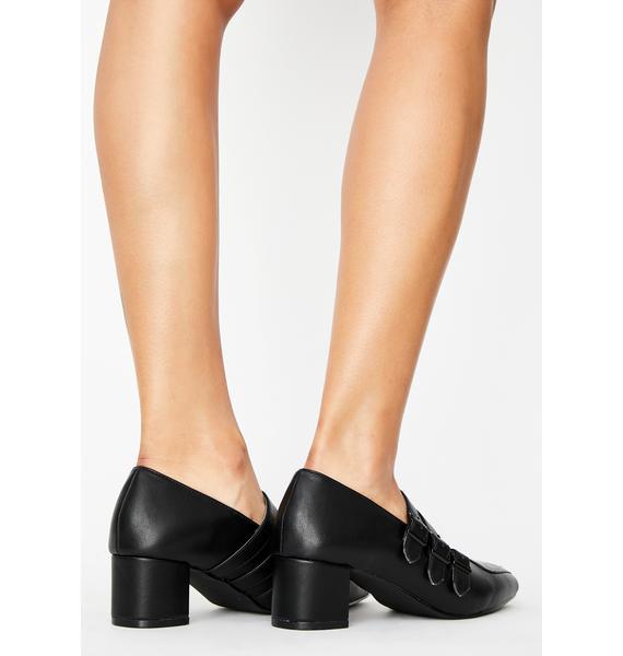 Strange Cvlt Patent Spirit Block Heels