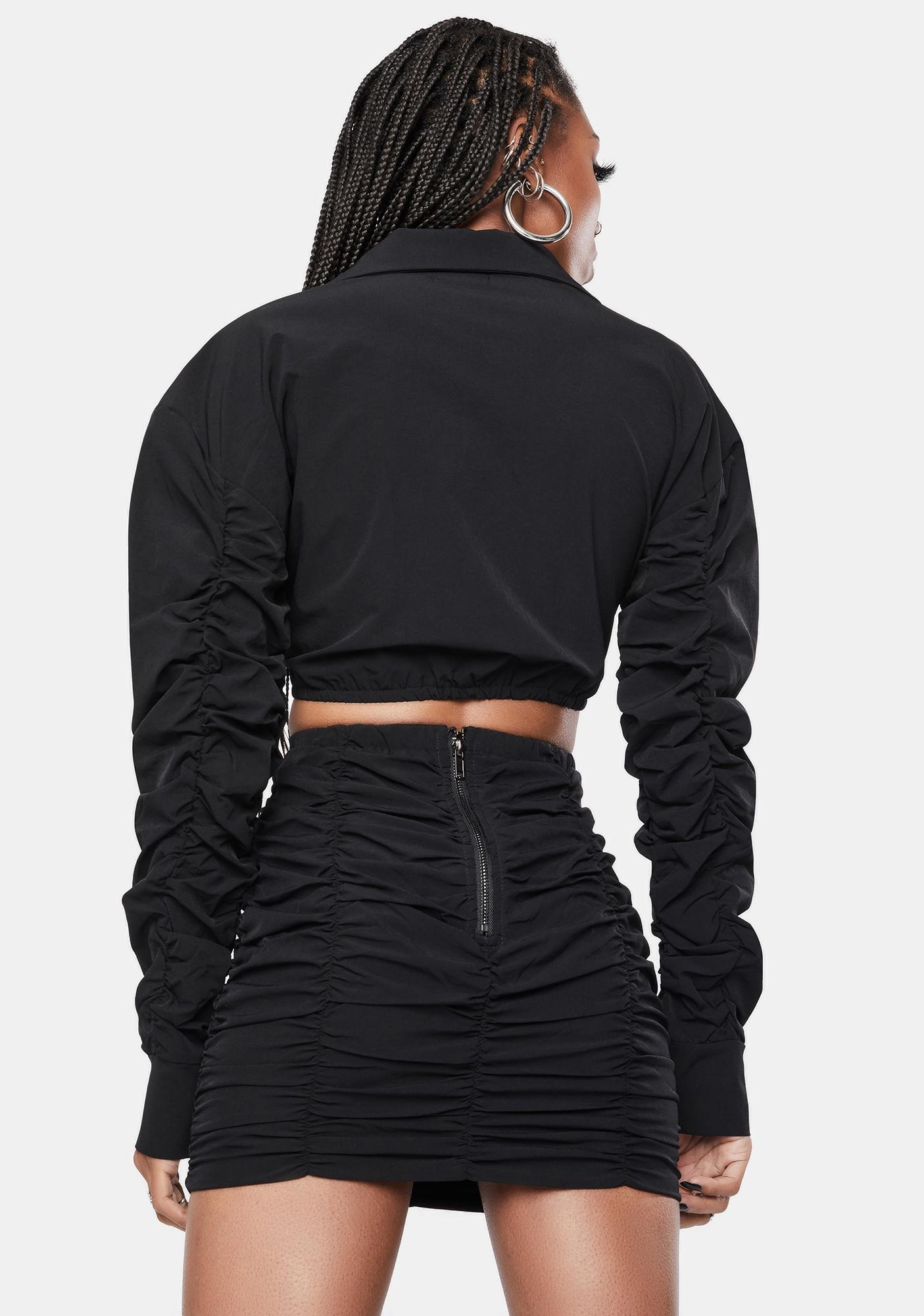 Feel Free Crop Top Skirt Set