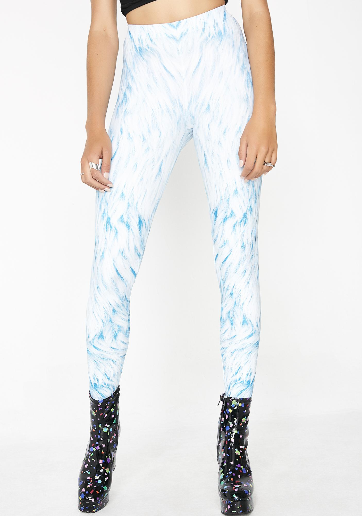 Badinka Bluefur Leggings