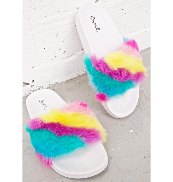 Sweet Tooth Fuzzy Slides