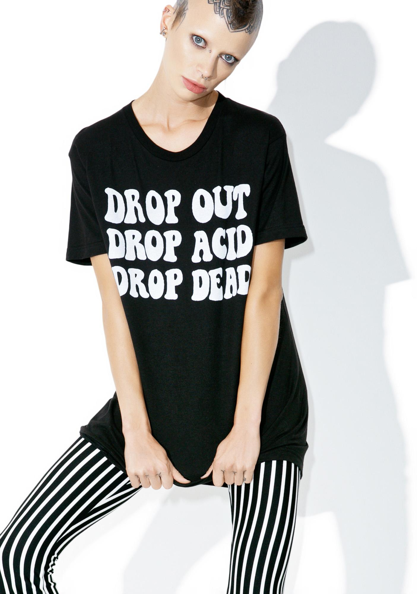 Burger And Friends Drop Out Tee