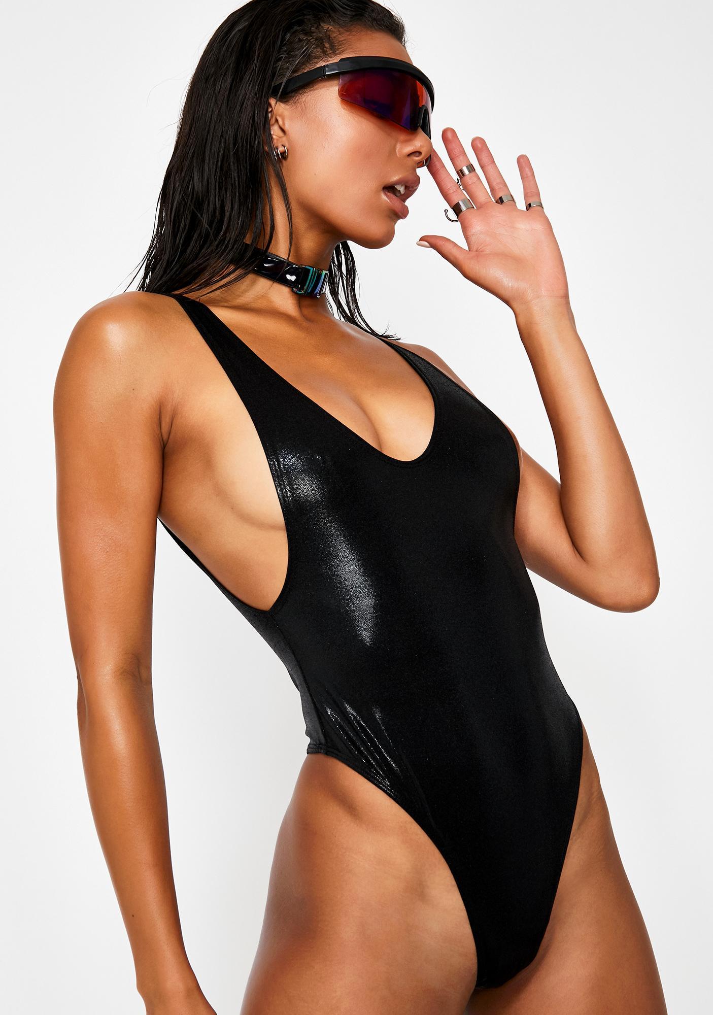 Sugarpuss Poolside Scandal Side-Boob Swimsuit