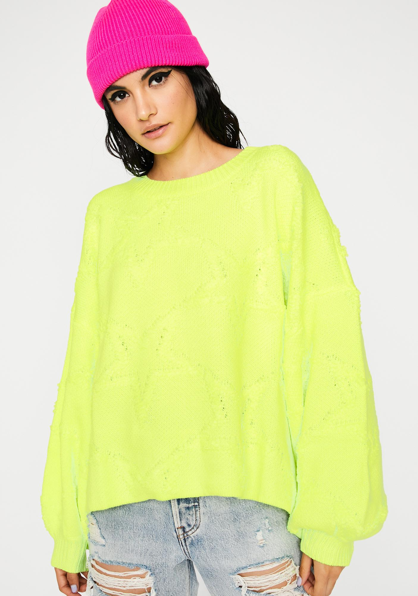 Bee Comfy Cute Knit Sweater