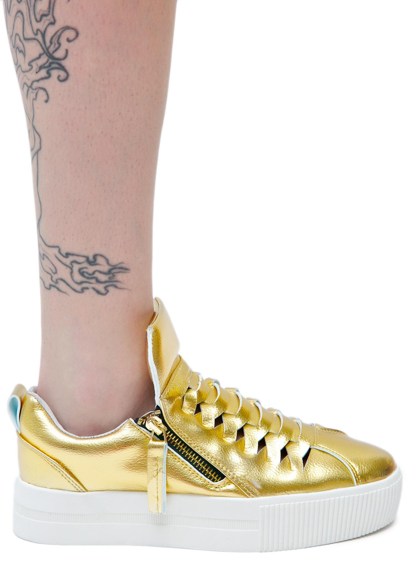 Gilded Ginger Sneaker