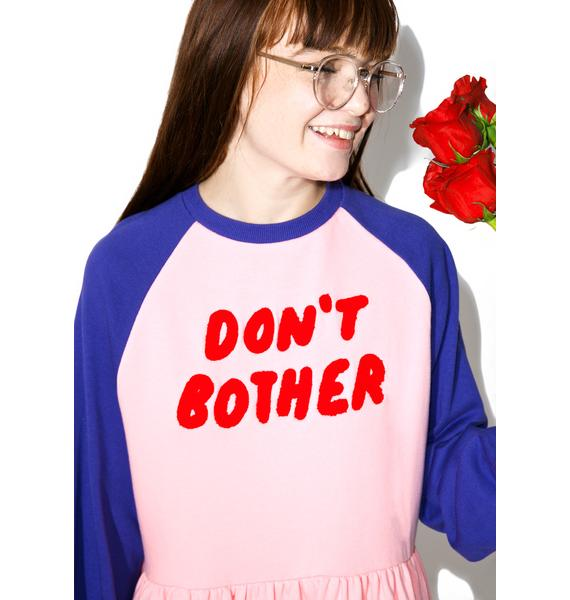 Lazy Oaf Don't Bother Sweater Dress