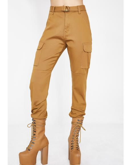 Wheat Talk Mean Cargo Joggers