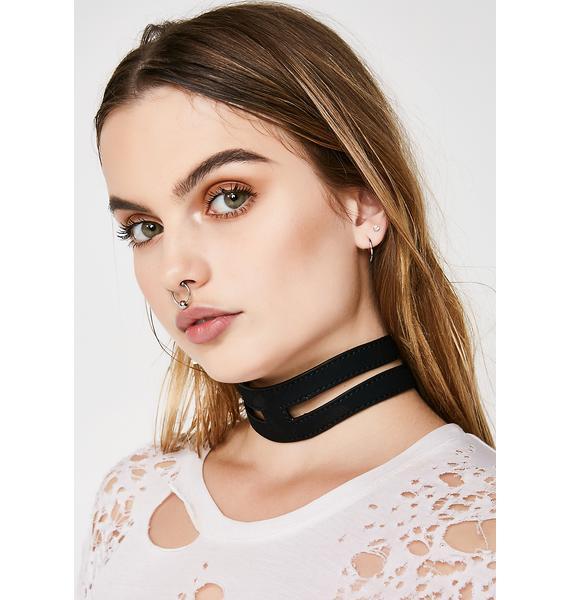 Disturbia Caged Collar