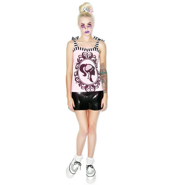 Too Fast Dreamhouse Cameo Annabel Bow Tank