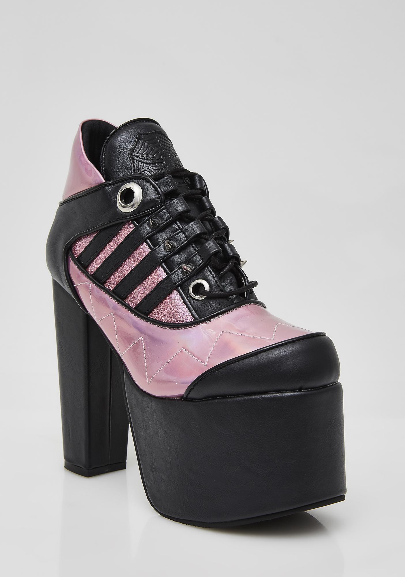 Demonia Tormented Platform Heels