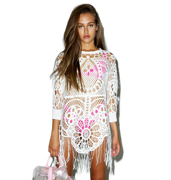 Wildfox Couture Ornamental Windy Sweater