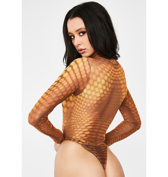 Poster Grl Glow New Money Mesh Bodysuit