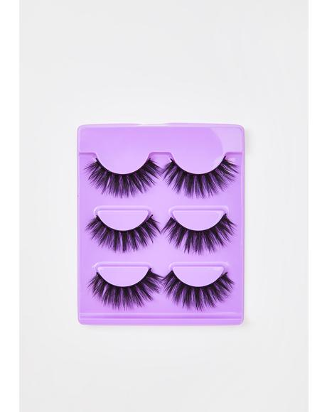 Purplicious False Eyelashes